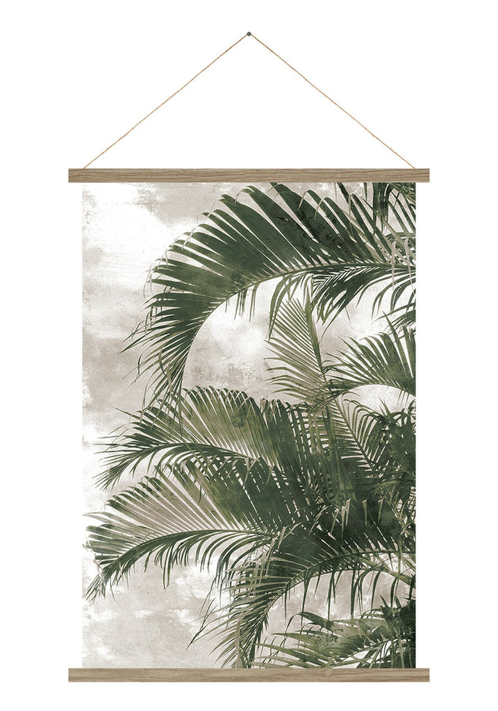 Sepia Palm | Pennant Art
