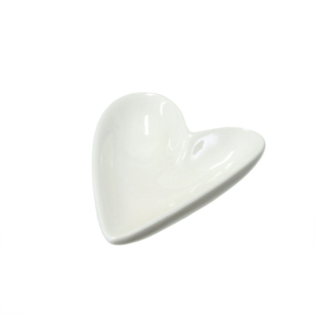 Itty Bitty Heart Ring Dish | Porcelain