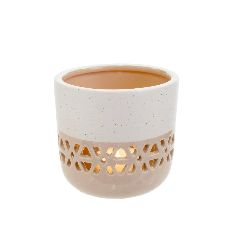 Lille Votive Candle Holder | Taupe