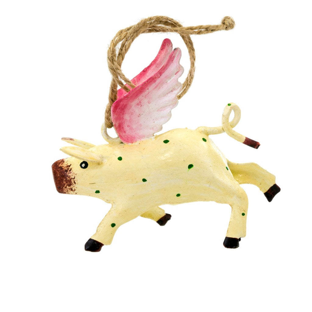 """When Pigs Fly"" Ornament 