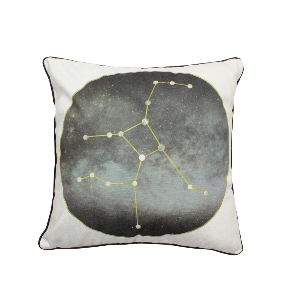 5 Line Constellation Pillow