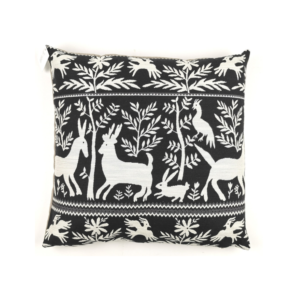 Boreal Pillow | Black + White