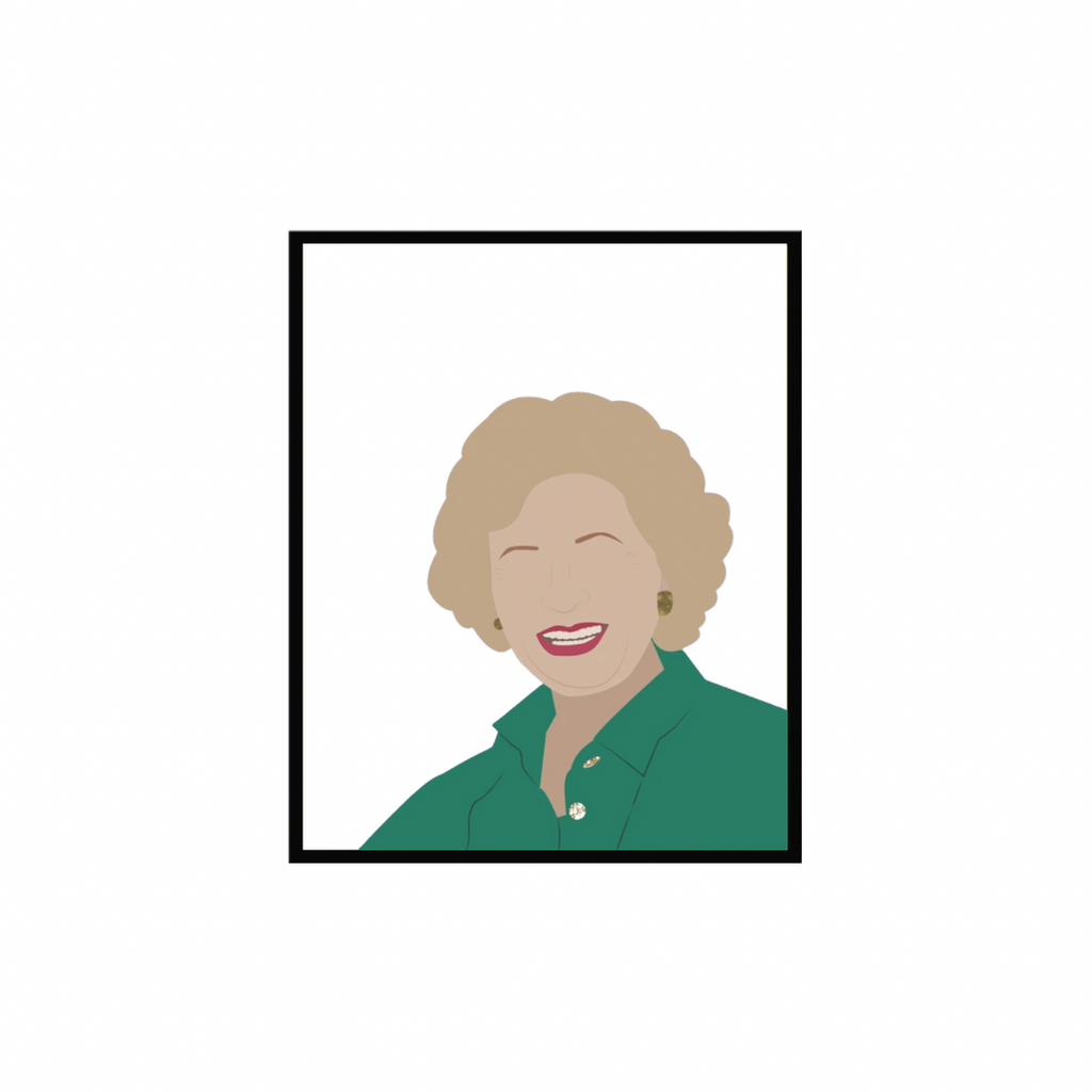 Betty White | 5x7 Art Print