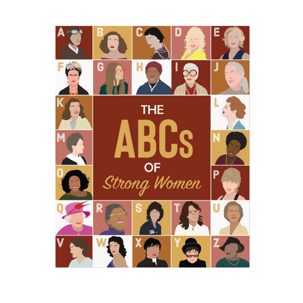 ABC's of Strong Women | Art Print