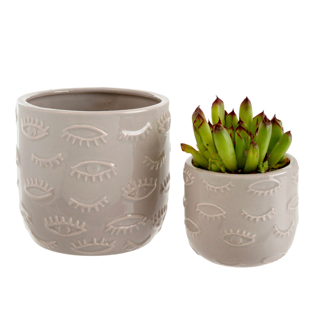 Wink Plant Pot Small | Gray