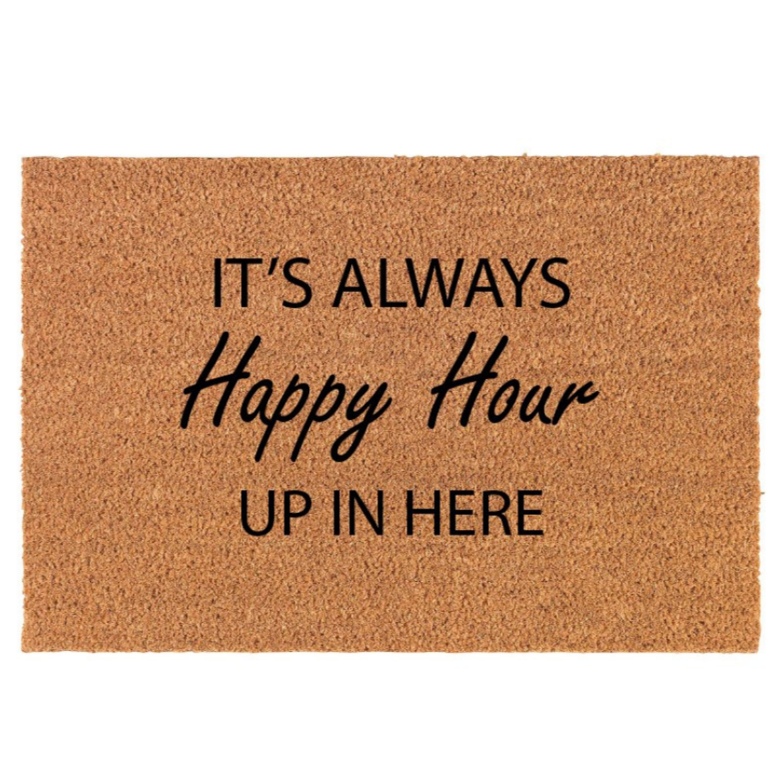 Happy Hour | Doormat