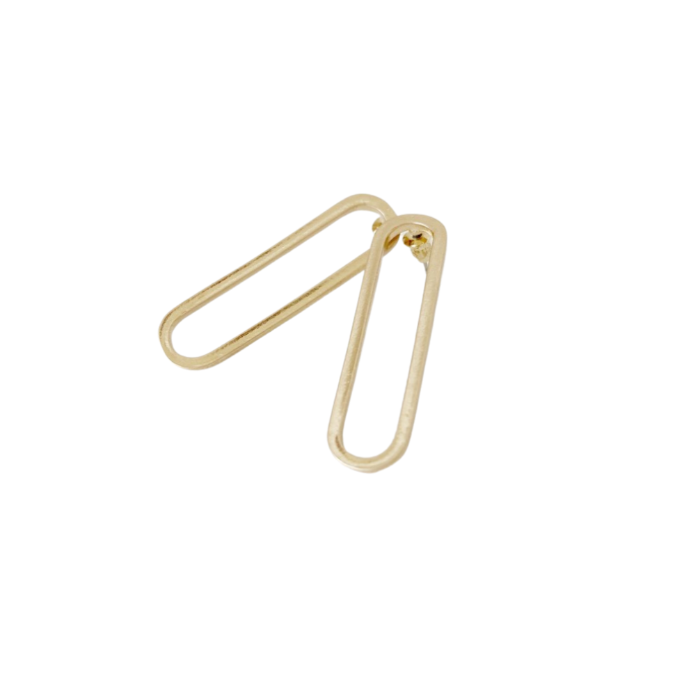 Dalia Link Earrings | Gold