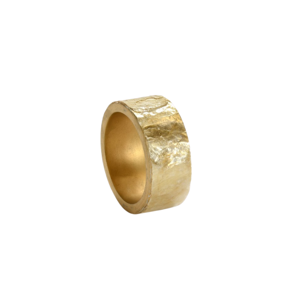 Capiz Shell Napkin Ring