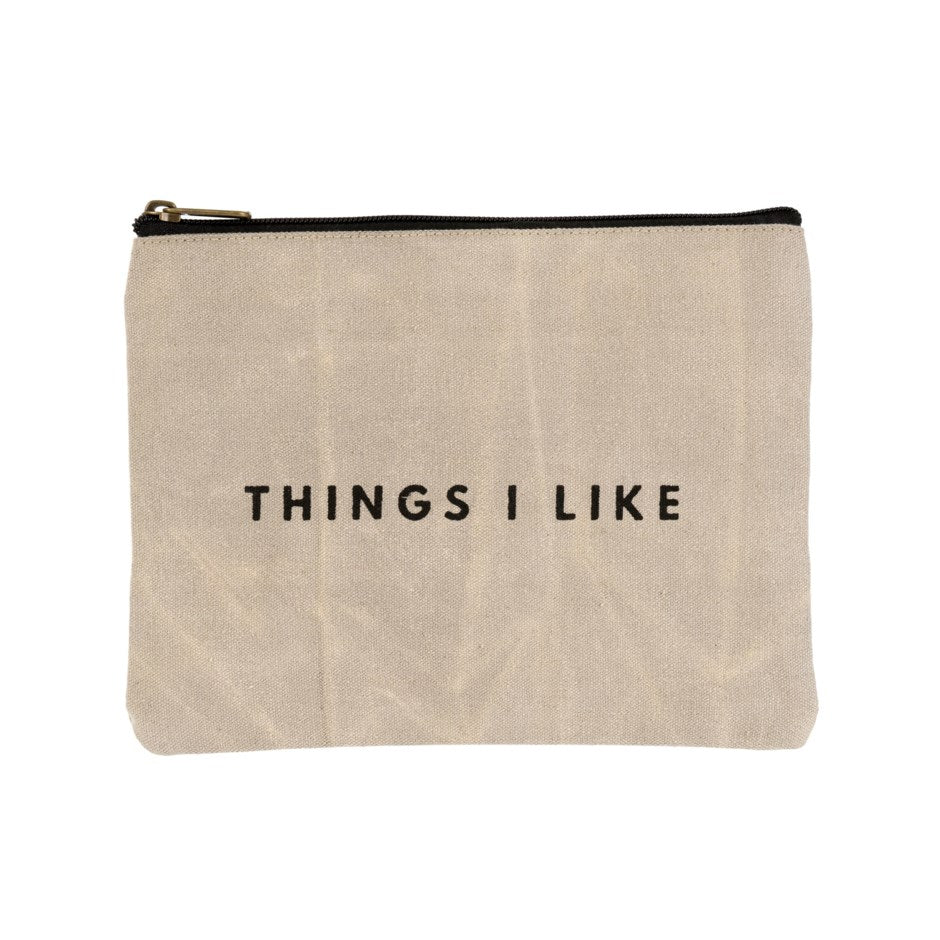Things I Like | Canvas Pouch