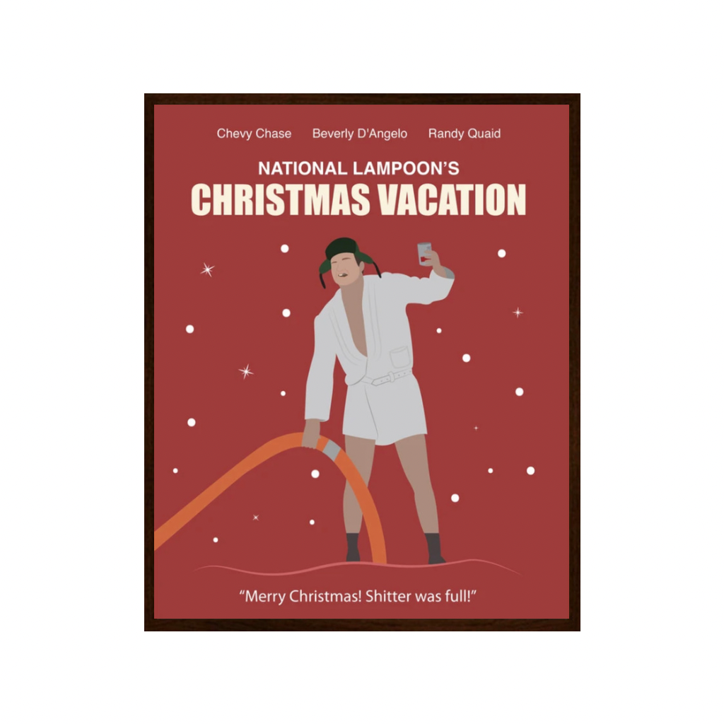 Christmas Vacation | Cousin Eddie | Art Print