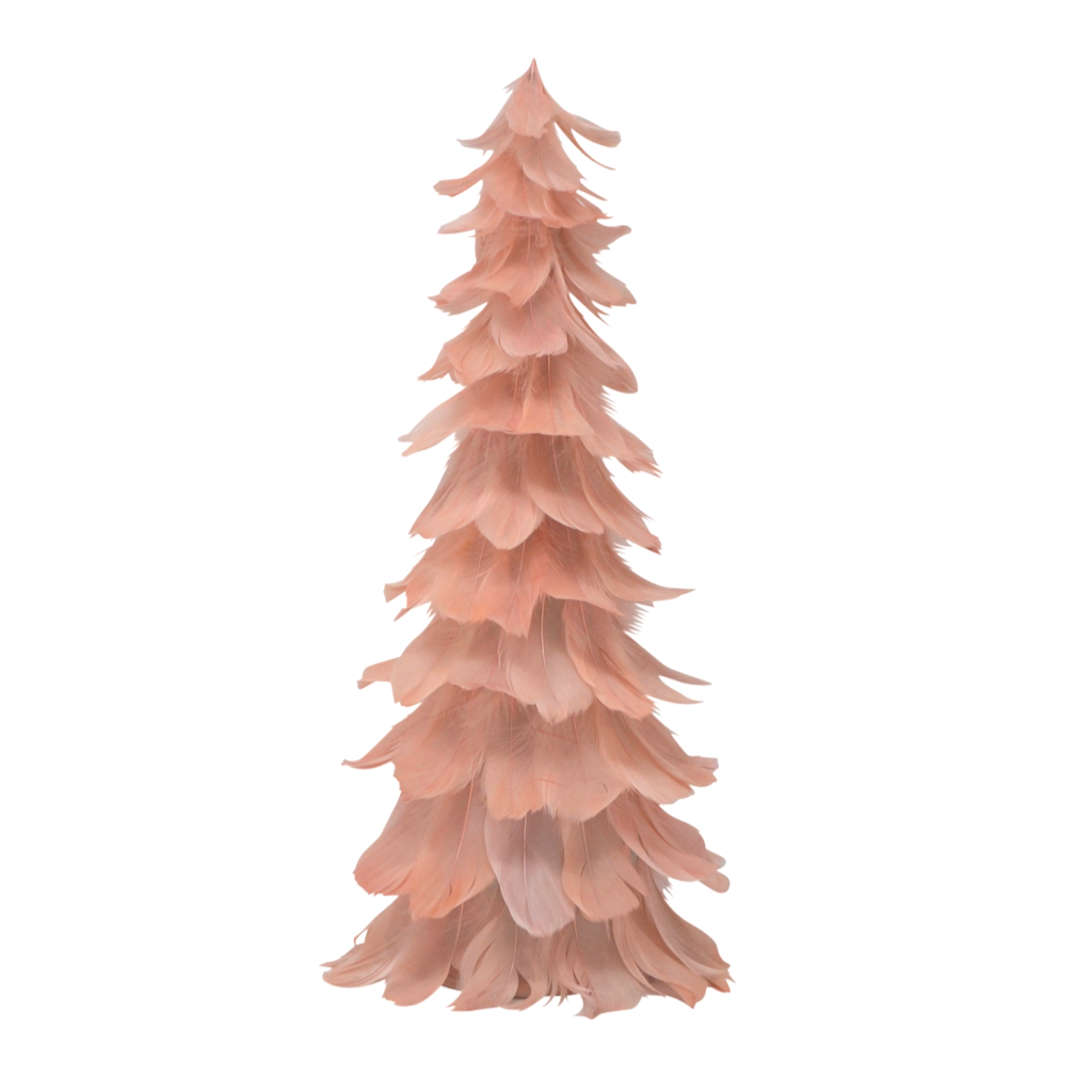 Pink Feather Tree