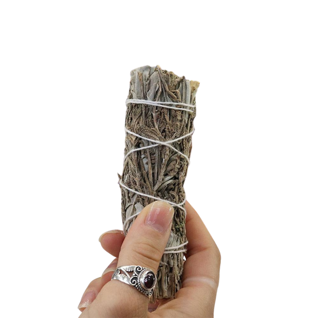 White Sage + Lavendar Cleansing Wand