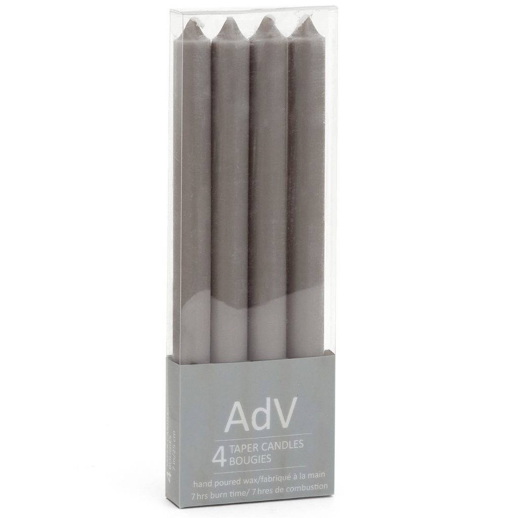 Taper Candle Set | Gray