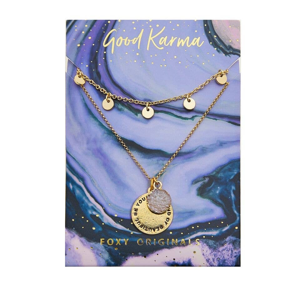 Good Karma Beautiful Necklace | Gold
