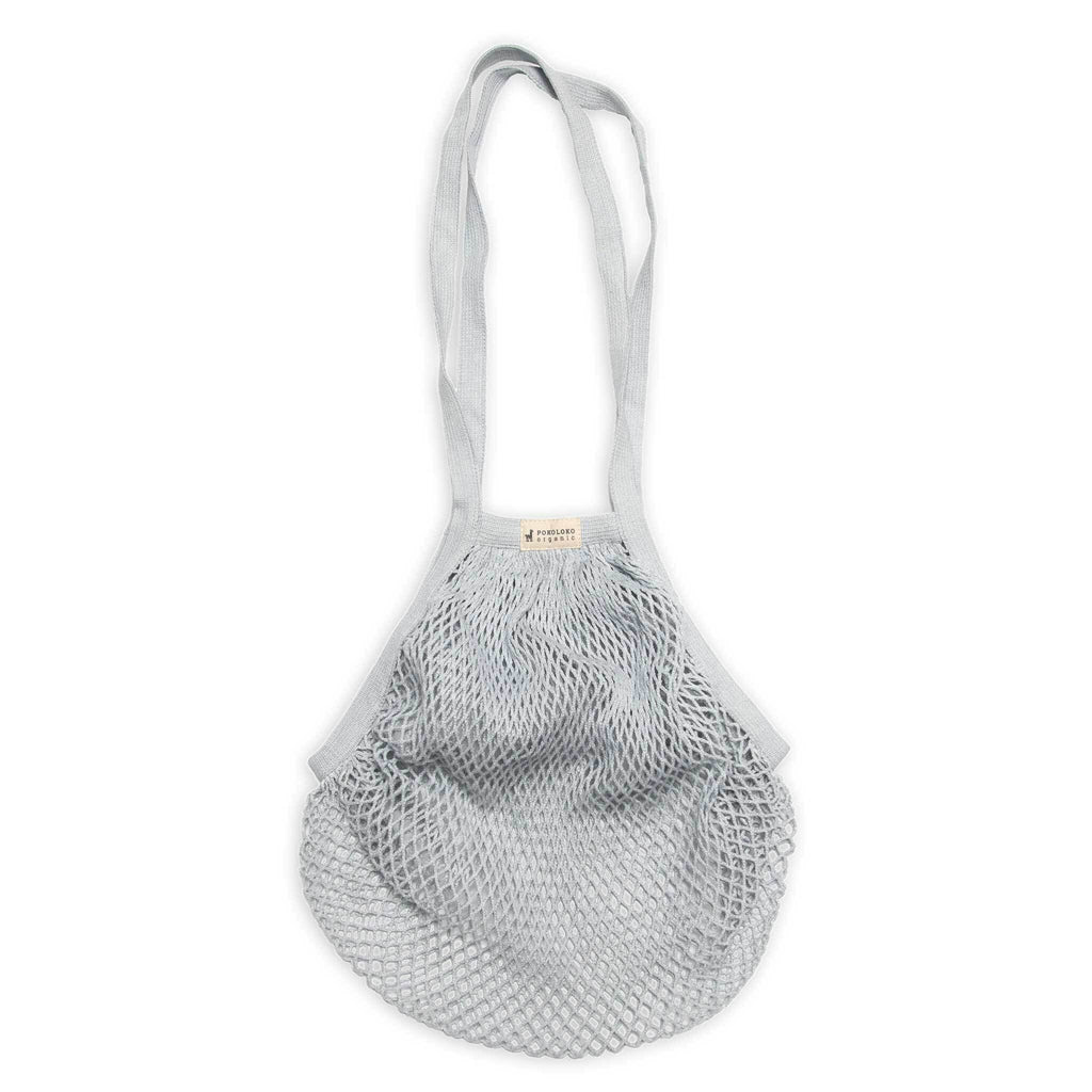 Organic Eco Net Bag | Gray Sky