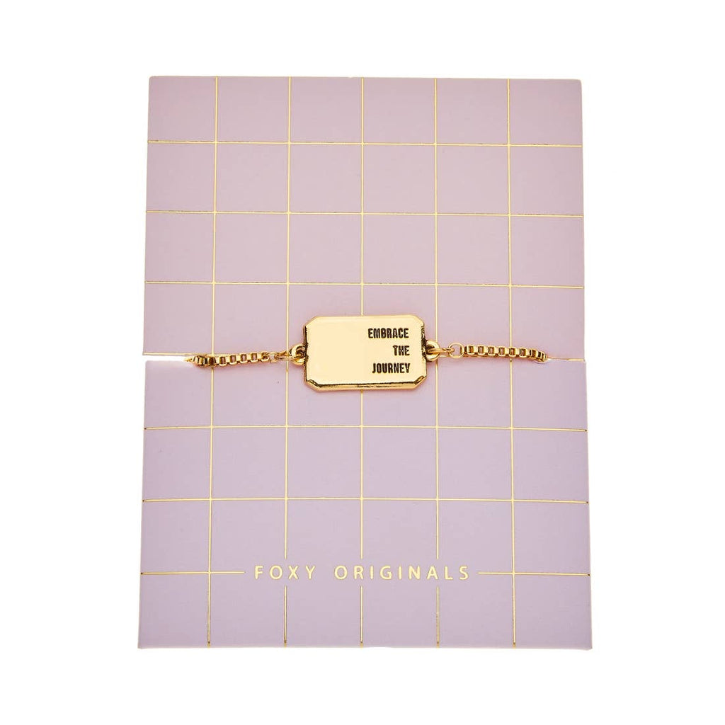 Embrace The Journey Bracelet | Gold