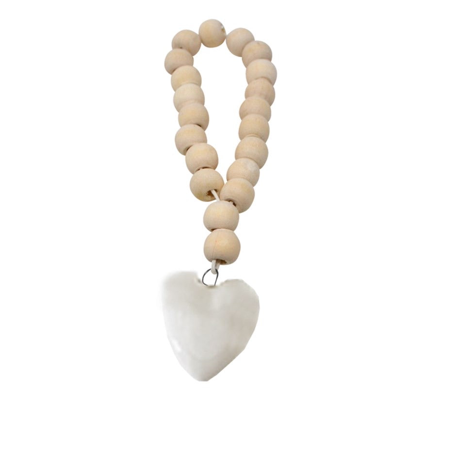 Nordic Bead Ornament | Heart