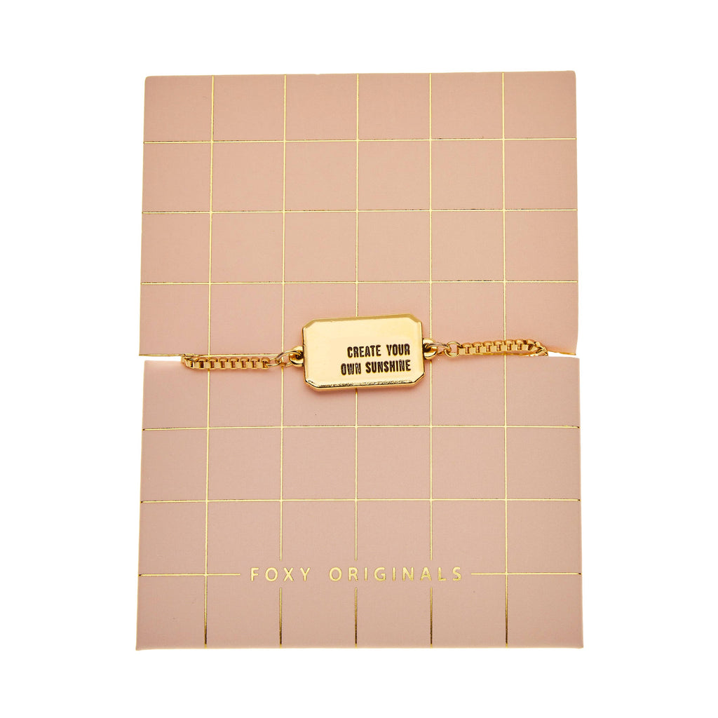 Create Your Own Sunshine Bracelet | Gold