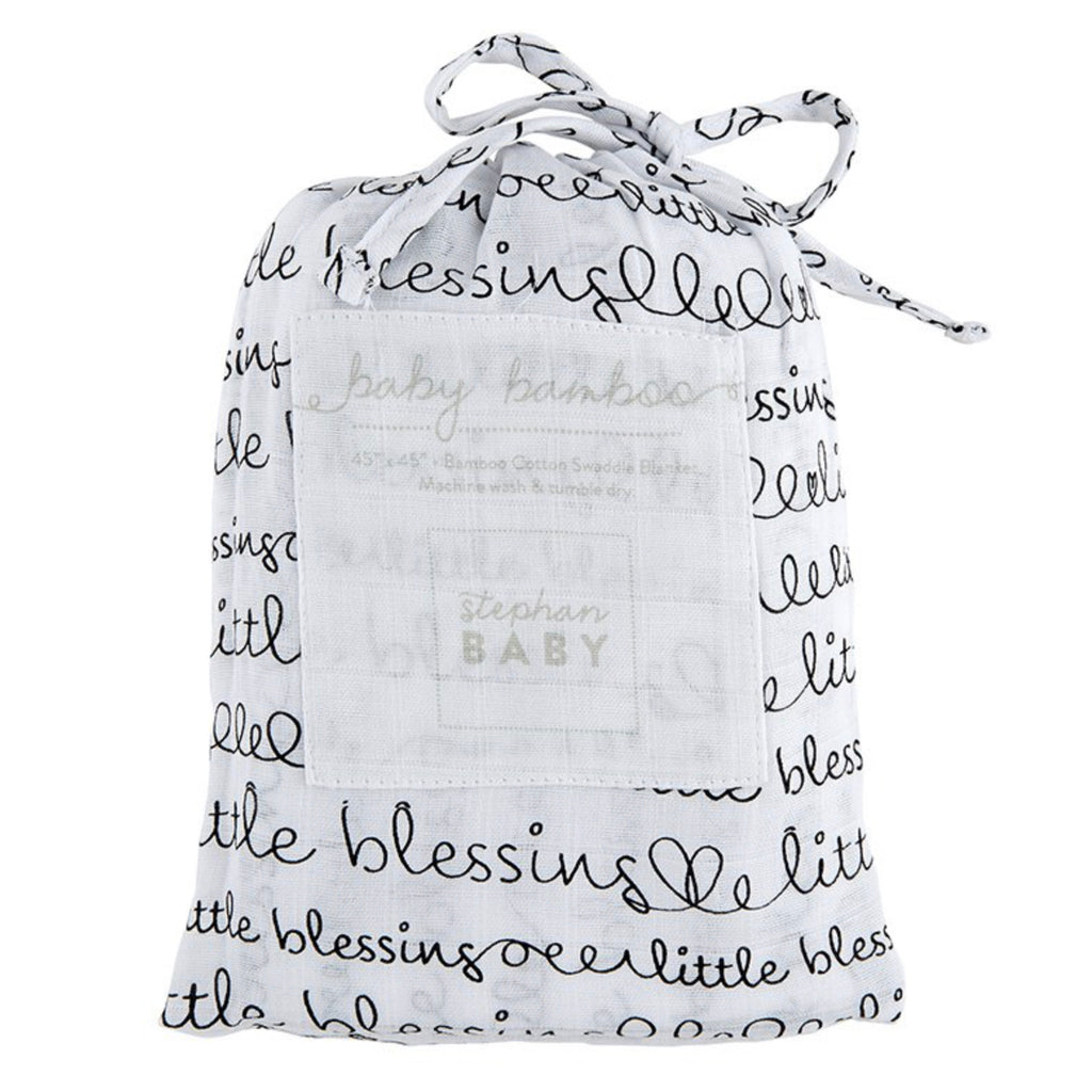 Little Blessings | Bamboo Cotton Swaddle Blanket