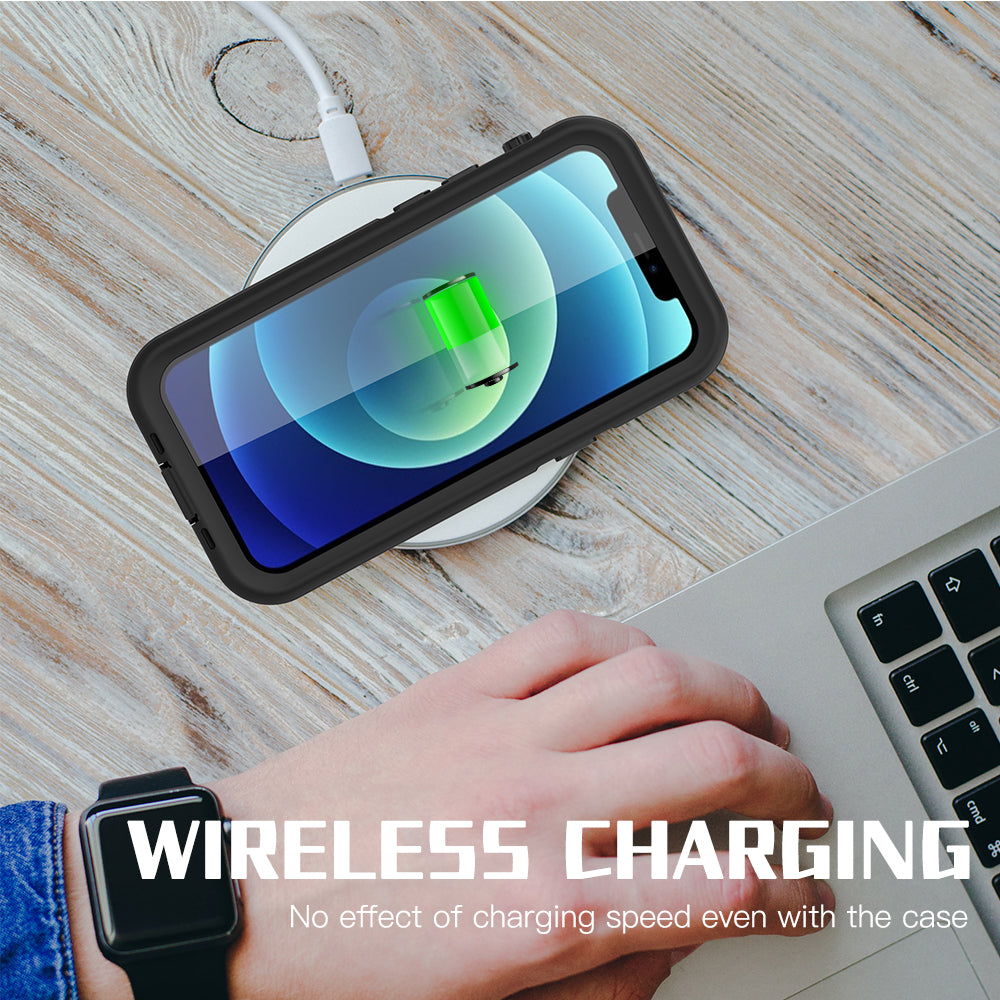 iPhone 12 mini case support wireless charging