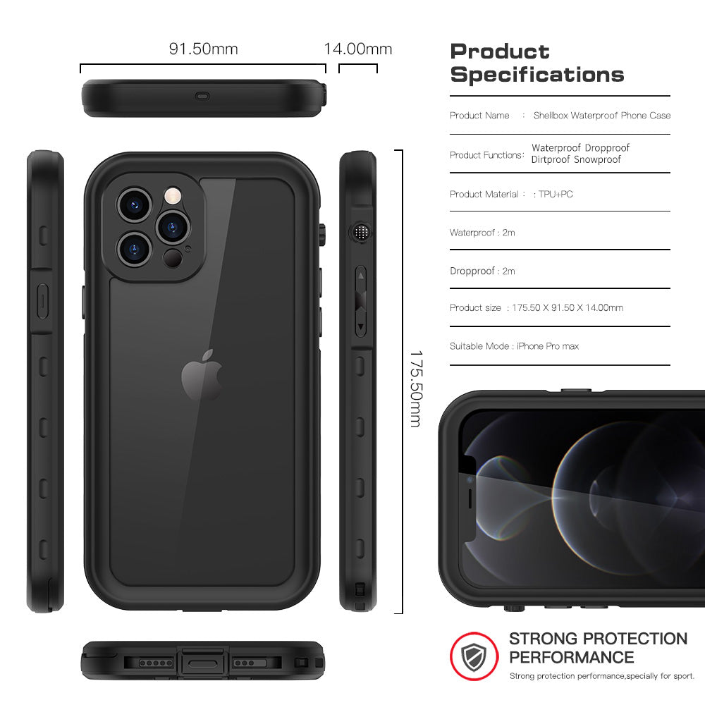 shockproof case feature for iPhone 12 pro max