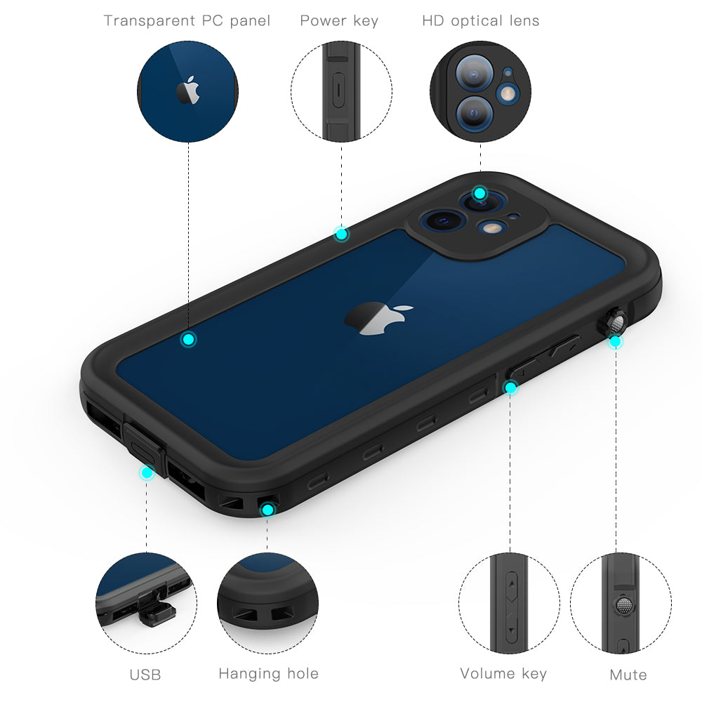 iphone 12 mini shockproof case features