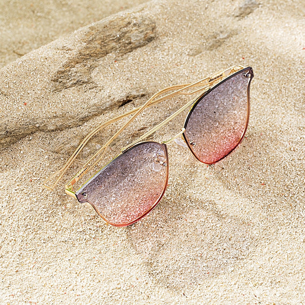 INMAN 2019 Women Beach Trip Sunglasses Lady Metal Frame Light Eyes Protect Sunglasses