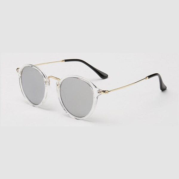 WOWSUN New Retro Women Men Sunglasses Brand Designer Driving Beach Sunglasses PC Frame Metal Glasses Legs UV400 A896