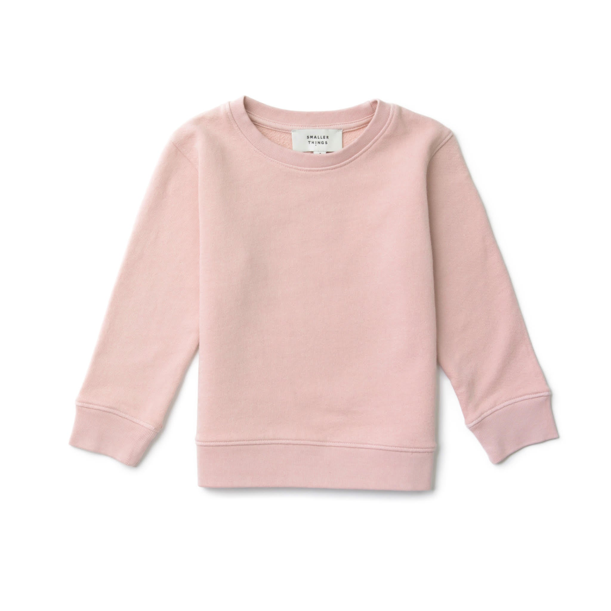 Smaller Things Organic Sweatshirt Pink