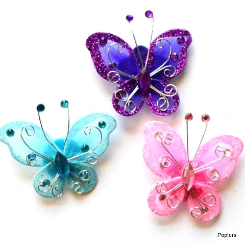 Butterfly Funky Toppers