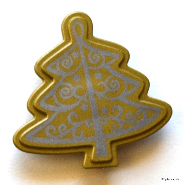 Gold Christmas Funky Toppers