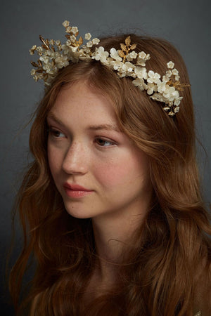 Alabaster Garden Crown