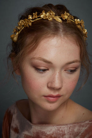 Golden Meadow Tiara