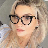 Ladies Sexy Cat Eye Glasses Frames