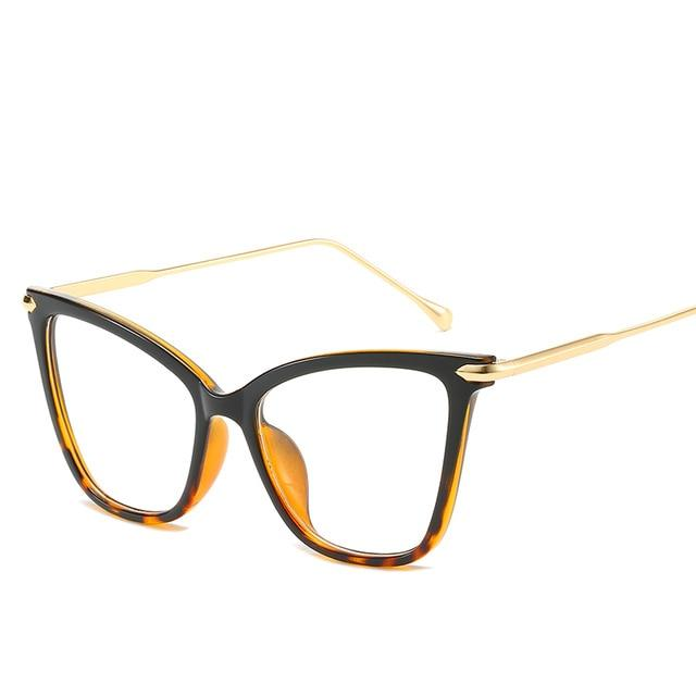 Metal Oversized Eyeglass Frame