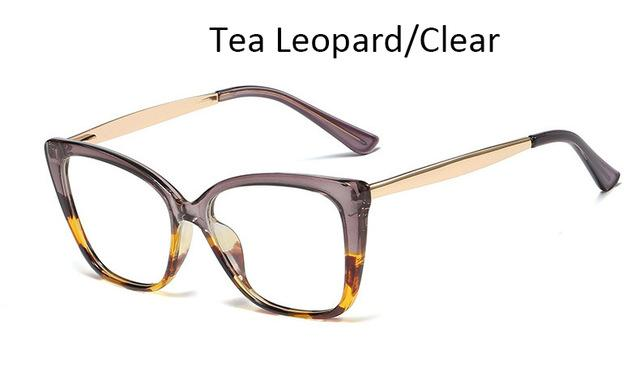 Spectacle Frames Transparent Women Glasses Frame