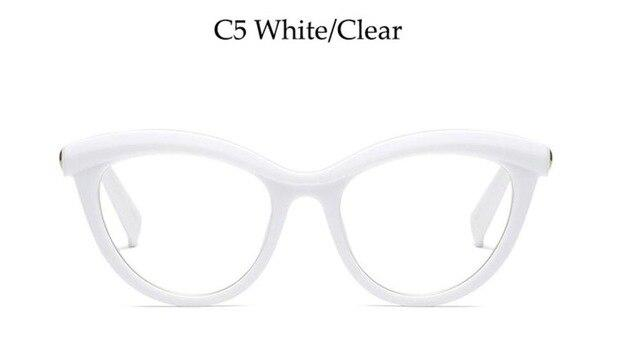 Fashion Cat Eye Reading Eyeglasses Optical Glasses Frames