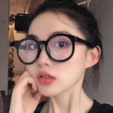 Retro Round Myopia Optical Glasses Frame