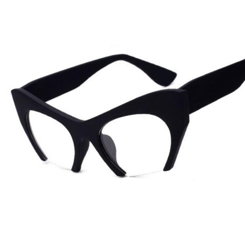 Fashion Semi-Rimless Women Glasses