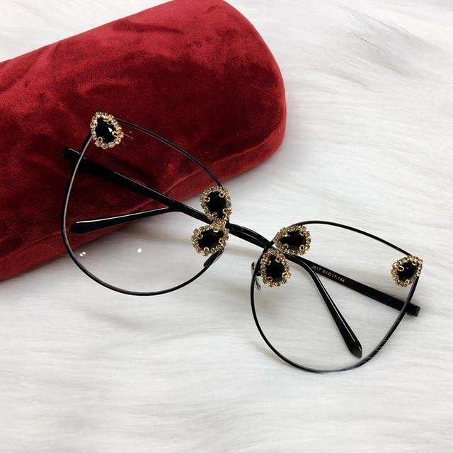 Sexy Woman Fashion Designer Cat Eye Sunglasses