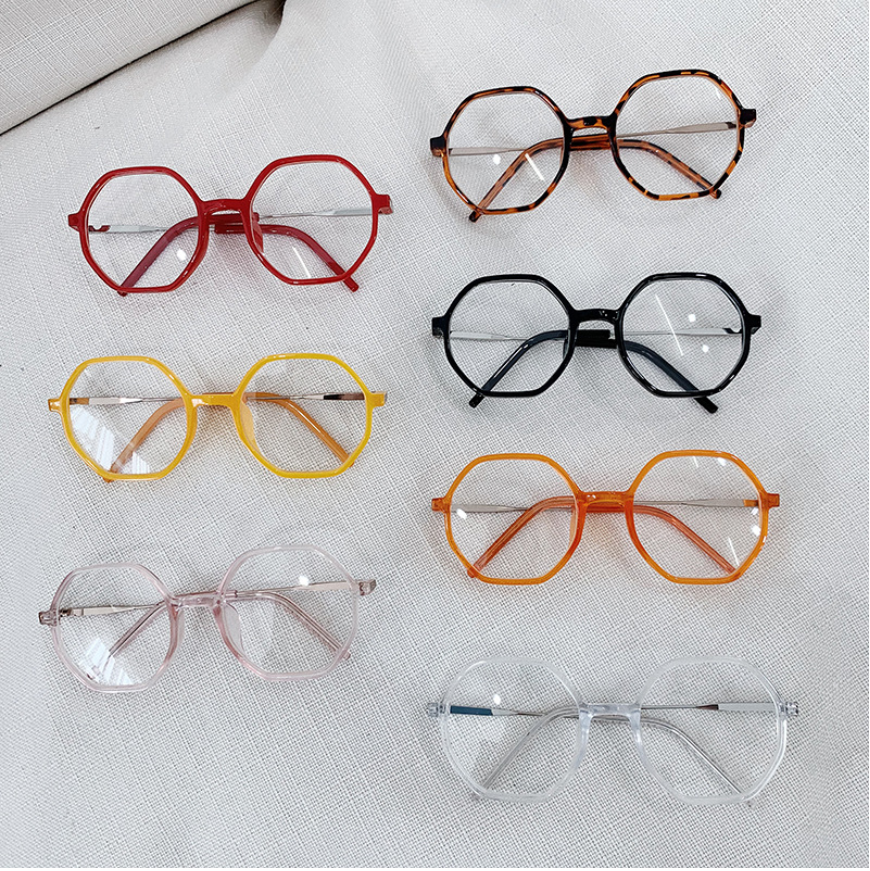 Geometric  Optical Fake Glasses Frame NT0427