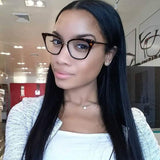 Women Frame Cat Eye Glasses