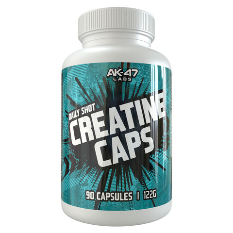 AK-47 LABS CREATINE CAPS 90 caps