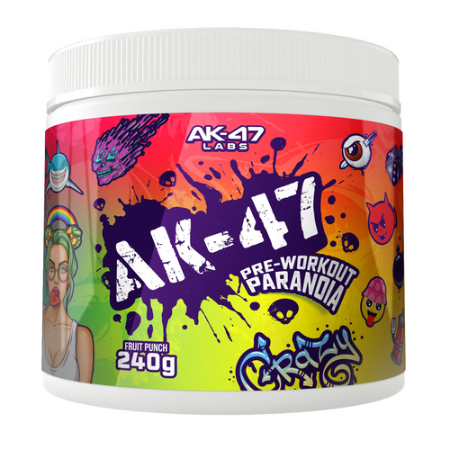 AK-47 LABS PRE-WORKOUT PARANOIA - FRUIT PUNCH