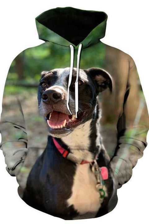 3D Graphic Hoodies  Animals Dogs  Australian Cattle