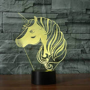 Unicorn V2 3D Illusion Lamp