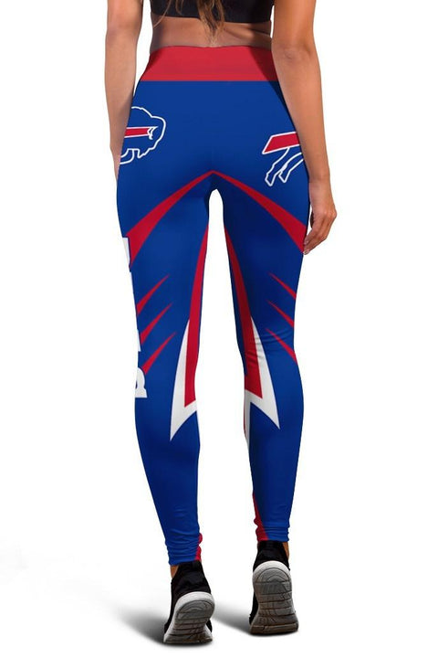 HhhknBuffalo Bills Limited Edition 3D Printed Leggings