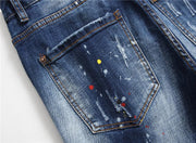 HhhknCasual badge stretch jeans