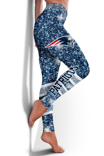 HhhknNew England Patriots Limited Edition 3D Printed Leggings