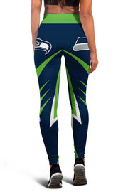 Seattle Seahawks Limited Edition 3D Printed Leggings